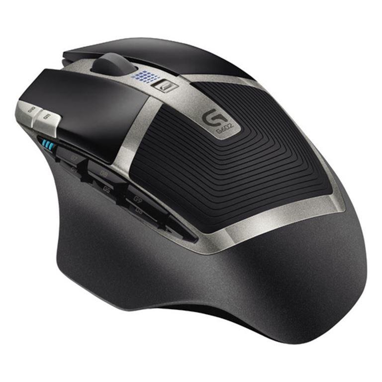 Logitech G 602 Wireless Gaming Mouse (Schwarz)