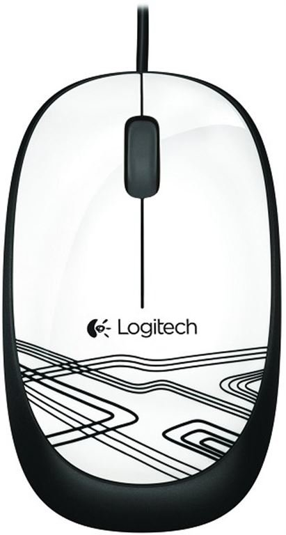 Logitech M 105 Mouse (weiss)
