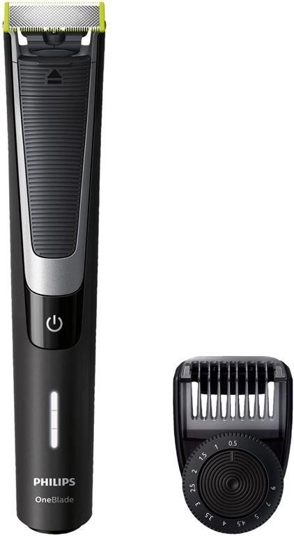 Philips QP 6510/20 OneBlade (Schwarz)