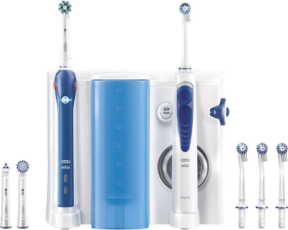 Oral-B OxyJet Munddusche + PRO 2 (blau)
