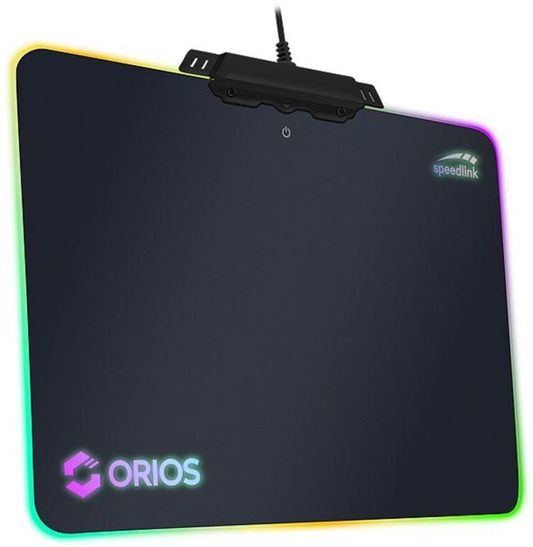 Speed-Link ORIOS RGB Gaming Mousepad (schwarz)