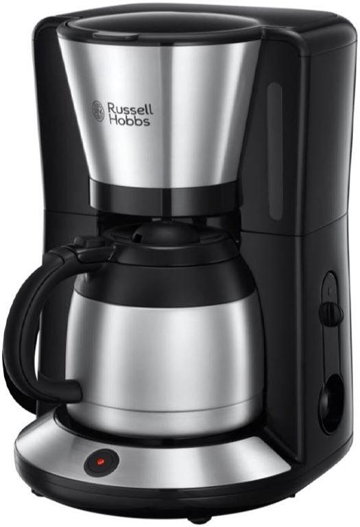 Russell Hobbs Adventure Thermo-Kaffeemaschine (edelstahl/schwarz)