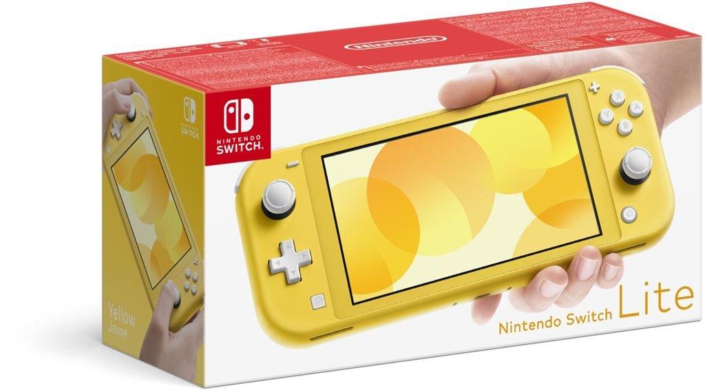 Nintendo Switch Lite Konsole (gelb)