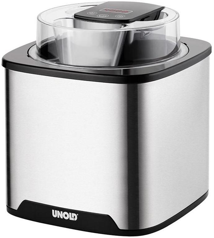 UNOLD 48855 Eismaschine Gelato (edelstahl/schwarz)