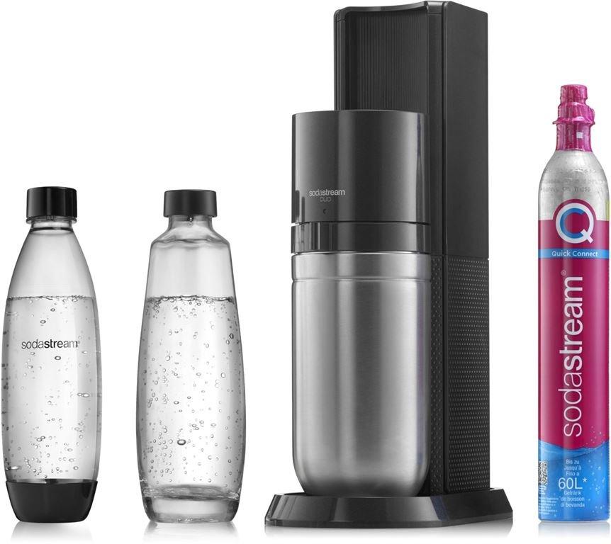 SodaStream DUO Wassersprudler (titan)
