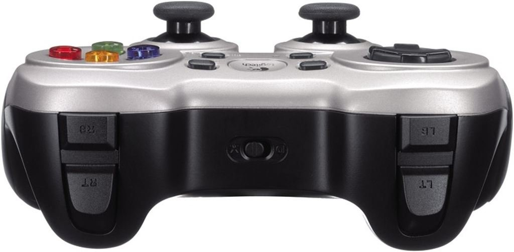 Logitech F 710 Wireless Gamepad (silber)