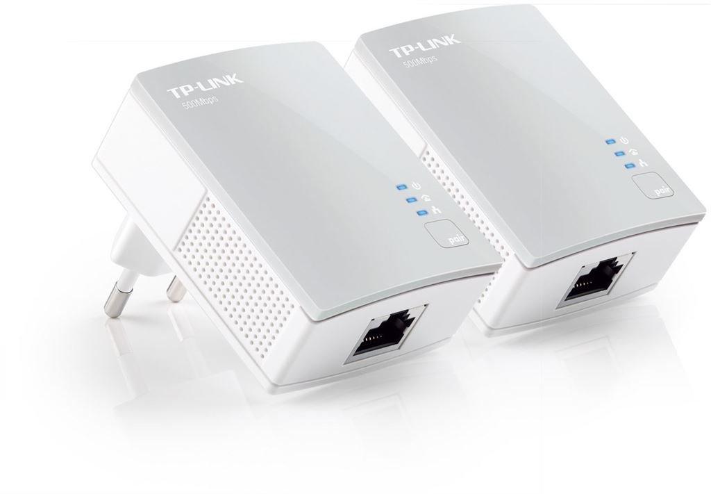 TP-Link TL-PA4010KIT AV 500/600 Nano Powerline (weiss)