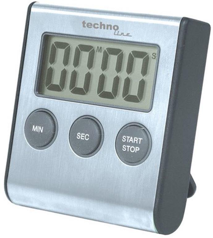 Technoline KT 200 Digitale Küchenuhr (silber)