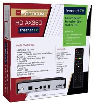 Opticum AX 360 Freenet TV